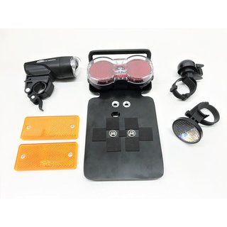Single acceptance kit STVO Set for Bi-Go seat segway for germany