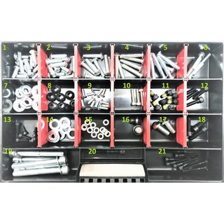 Large 156 piece Segway PT screw assortment i2,x2,Gen2,SE all in one set
