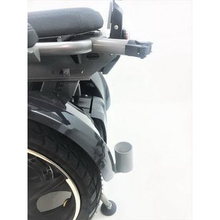 Walking stick holder for Freee F2 wheelchair on Segway PT basis