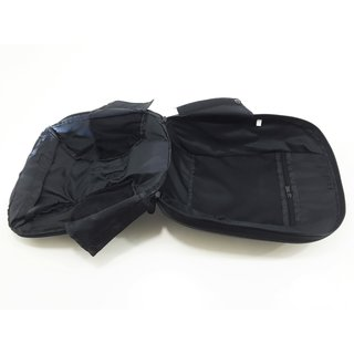 PT Pro front handlebar bag black ribbed for Segway PT