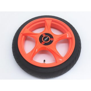 Felge PT Pro Turbo leucht orange Alu für Segway i2