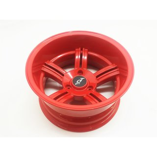 Rim PT Pro 5 spokes red aluminum for Segway x2
