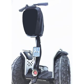 Number plate holder frontside Segway x2 Gen2