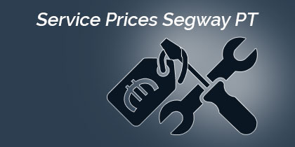 Price list for Segway repairs and information